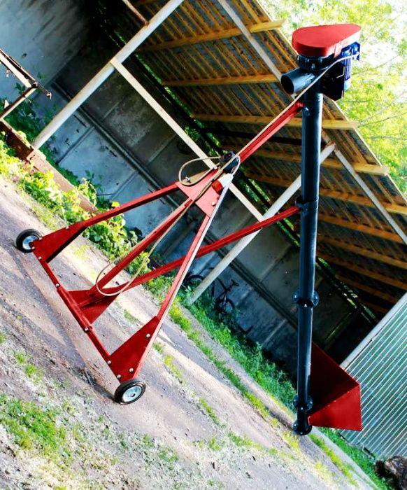 Шнековый погрузчик, 159 мм 9 м шнековый транспортер, шнек, конвейер Николаев - изображение 1