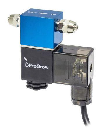 Elektrozawory marki ProGrow do butli CO2