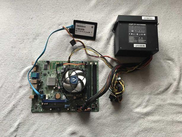 i3-2100 / płyta główna DELL / 8 GB RAM / SSD 120 GB / zasilacz OCZ