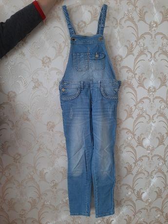 Комбинезон джинсовый для девочки,  Mayoral