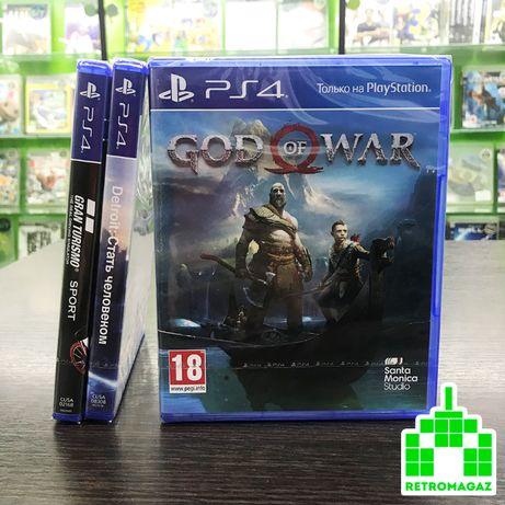 PS4 Ігри Detroit Become Human God of War 4 Gran Turismo ПС4 Детроіт