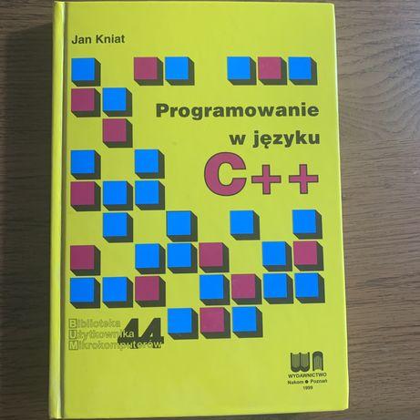 Programowanie w języku C++ Jan Kniat