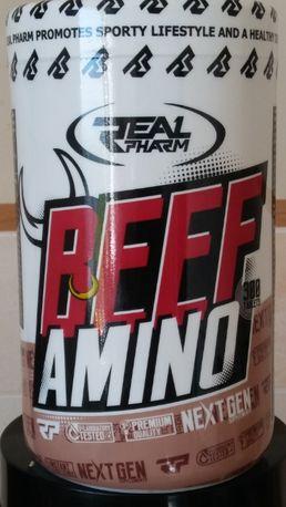 Suplementy - Real Pharm Beef Amino 300 tabl.