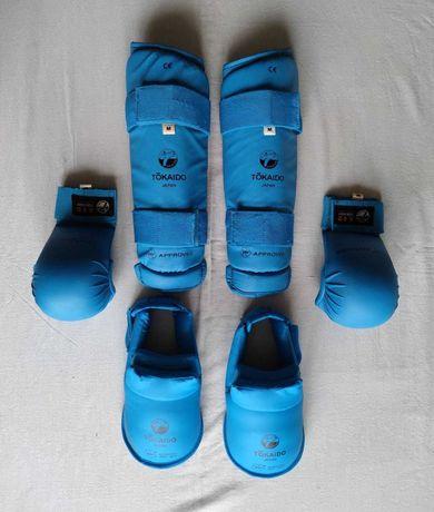 Перчатки. Защита голени и стопы. Tokaido. WKF. M