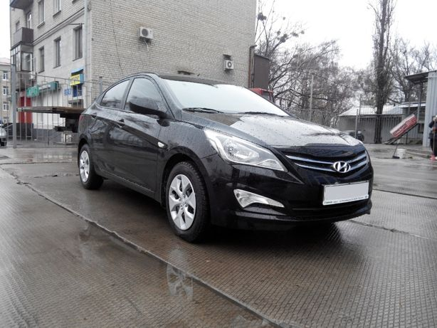 Прокат, аренда авто Hyundai Accent во Львове, без водителя