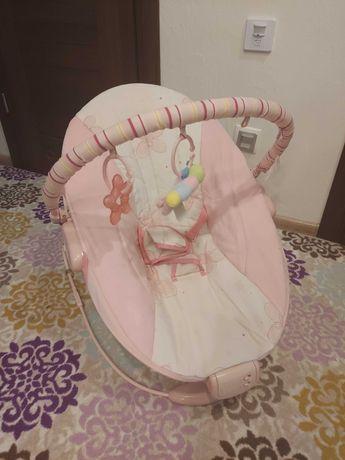 Крісло шезлонг для дівчинки