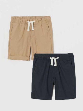 Коттоновые шорты H&M 3-4-5-6-7-8-9 george next джинсовые