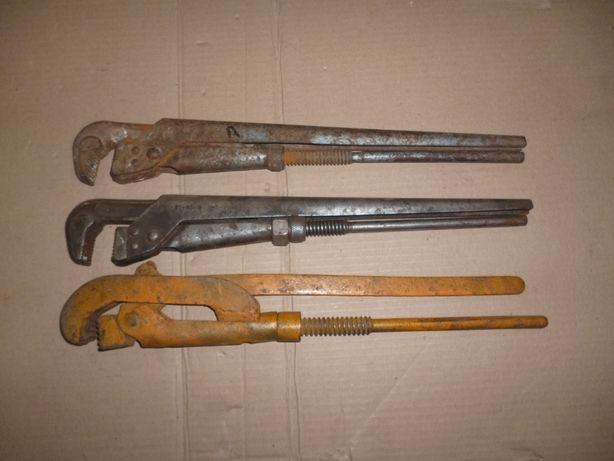 инструмент СССР ключ накидной разводной трубный