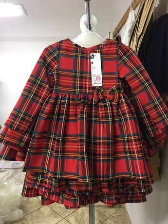 Piękna sukienka dla młodej damy