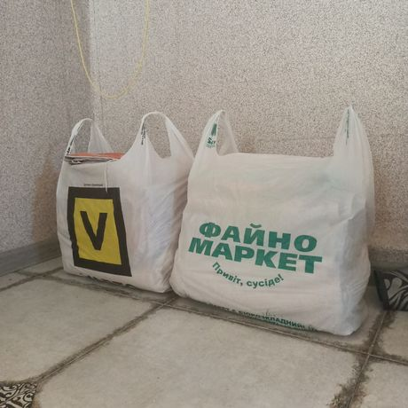 Продам 2 пакета махровых полотенец по 100 грн