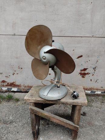 Советский вентилятор ВЭ-1 настольный 1966 года