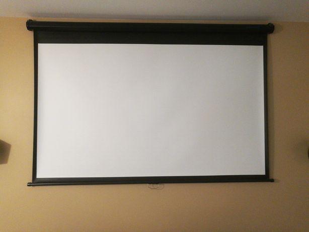 Ekran projekcyjny 175x101 cm