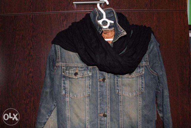 Джинсовый плащ-пальто Terranova