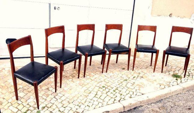 Cadeira olaio vintage 44comp X 40prof X 83alt