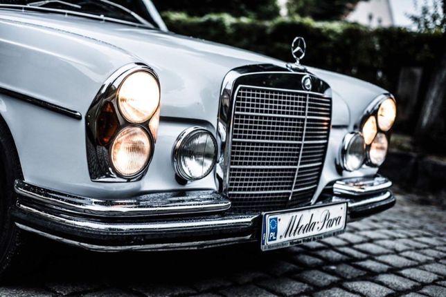 Auto do ślubu Mercedes-Benz z 1969r