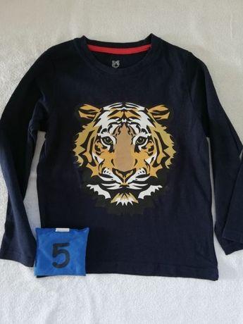 Bluzka t-shirt Lidl lupilu 110/116