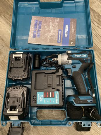2в1 Аккумуляторный гайковерт(импакт) Makita DTW 301,brushless 24v 5.0a