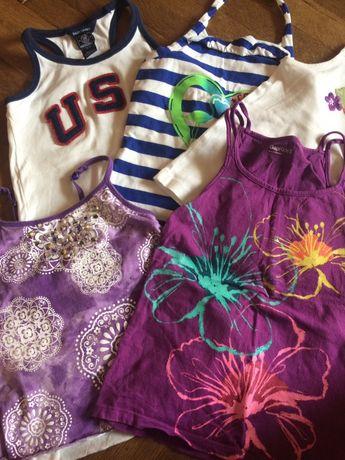 Літні футболка майки для дівчинки 6-8 років