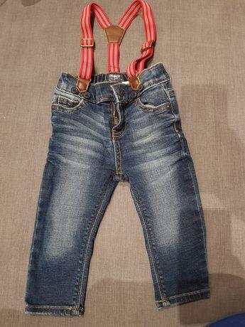 Spodnie jeansowe rozm 68 / 74