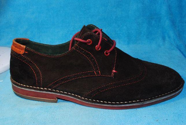замшавые туфли 46 размер