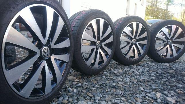 Koła 17 cali 5x112 ET54 Opony 205/50 VW Golf Passat Audi Skoda Seat