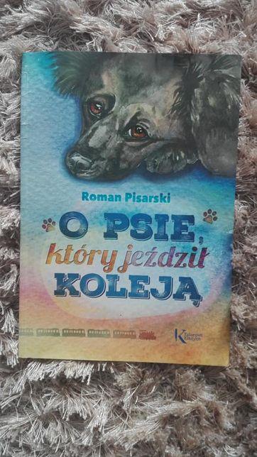 Książka o psie który jeździł koleją. LEKTURA