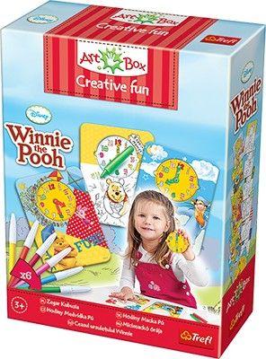 Art Box Zegar Kubusia - Winnie the Pooh Trefl 3+ - nowy