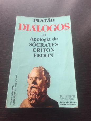 Platão - Diálogos III Apologia Socrates Críton Fédon