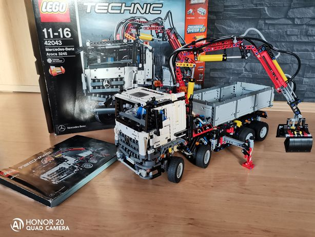 Lego technic 42043 Mercedes Arocs
