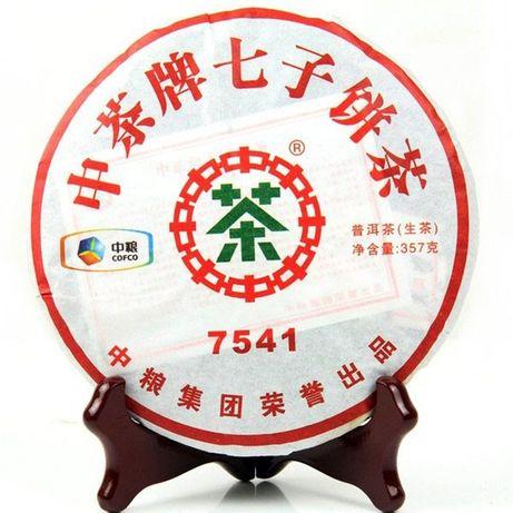 шэн пуэр Zhong Cha 7541 raw puer 2011 год чай