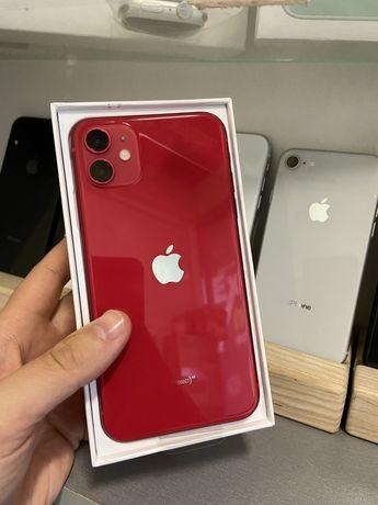 Новий iPhone 11 64gb RED Neverlock  Річна гарантія