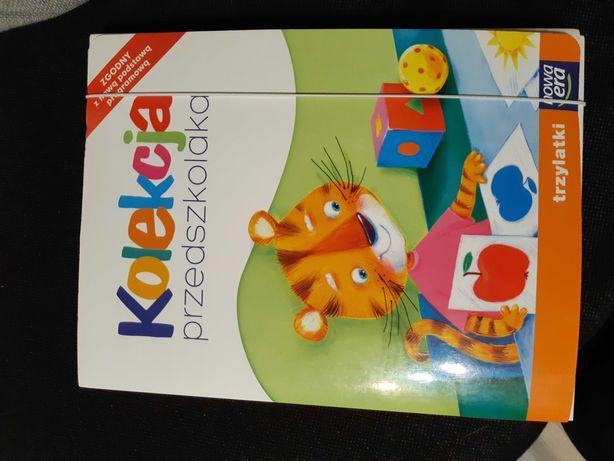 Zastaw książek kolekcja przedszkolaka trzylatki