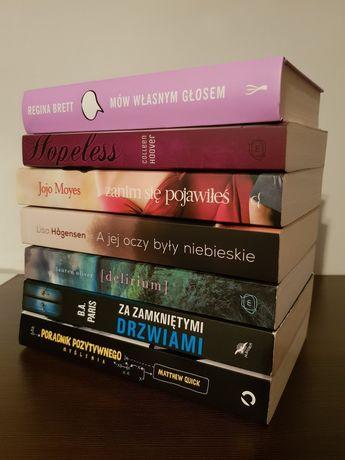 Zestaw 7 książek m.in Poradnik pozytywnego myślenia, Hopeless