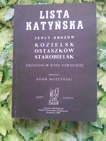 Lista katyńska - Adam Moszyński