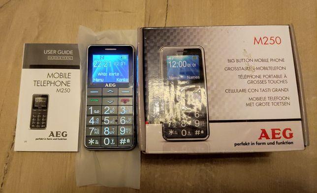 Telefon komórkowy AEG Voxtel M250 dla seniora