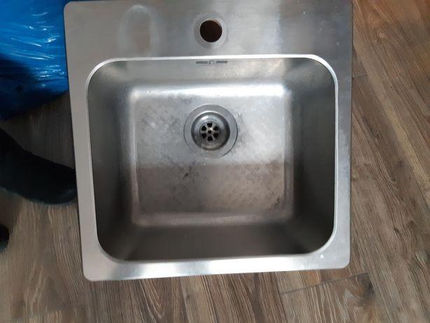 Zlew kuchenny srebrny