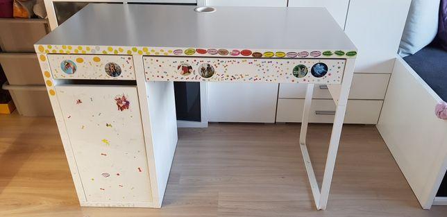 Tylko dzisiaj 70 zł!!! Funkcjonalne biurko Ikea micke