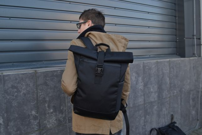 Рюкзак Roll Top 100% мужской-женский РОЛ ТОП / Рюкзак для ноутбука