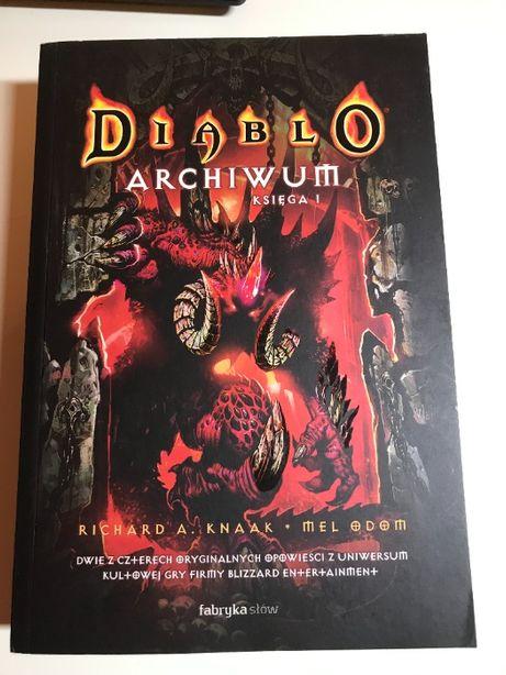 Richard A. Knaak, Mel Odom - Diablo Archiwum Księga 1