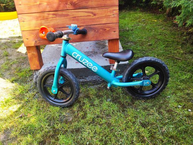 Rowerek biegowy cruzee 12 niebieski biegacz