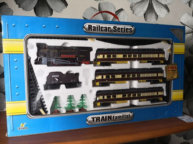 Железная дорога Fenfa Railcar Series Train Familial длина 3.25 м