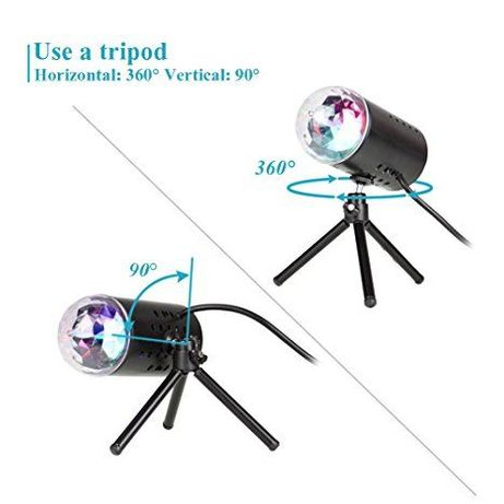LED Home Party Stage Light 3D