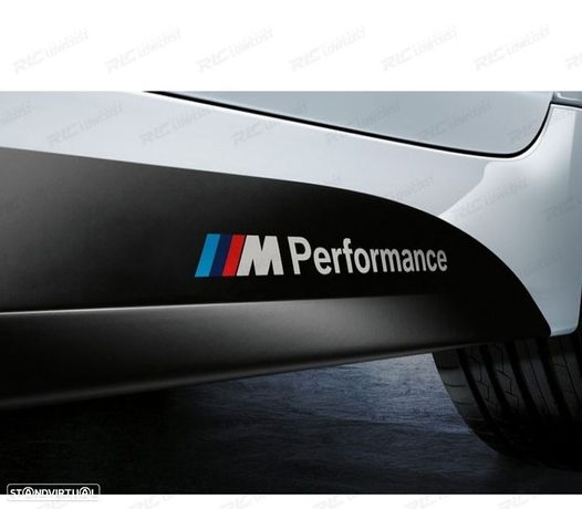 KIT DE DOIS AUTOCOLANTES M PERFORMANCE