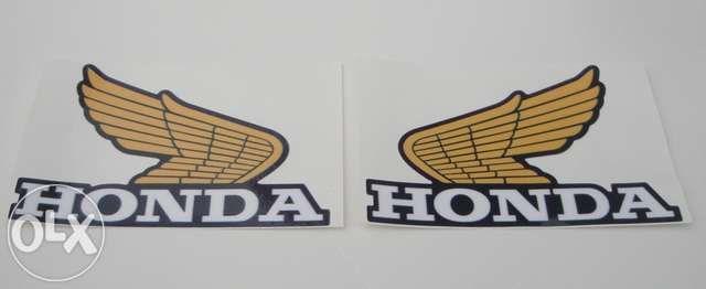 Autocolantes Honda classica moto antigas vintage cafe racer
