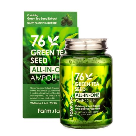 сыворотка для лица/ FarmStay Green Tea