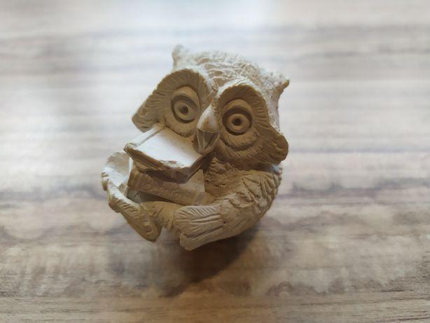 Статуэтка сова с книгой, сувенир, подарок новая фигурка, символ знаний