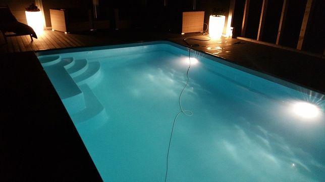 Basen ogrodowy poliestrowy baseny z laminatu 6,2x3,7 PRODUCENT Montaż