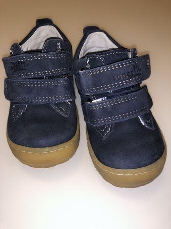 Кожаные кроссовки на мальчика Superfit