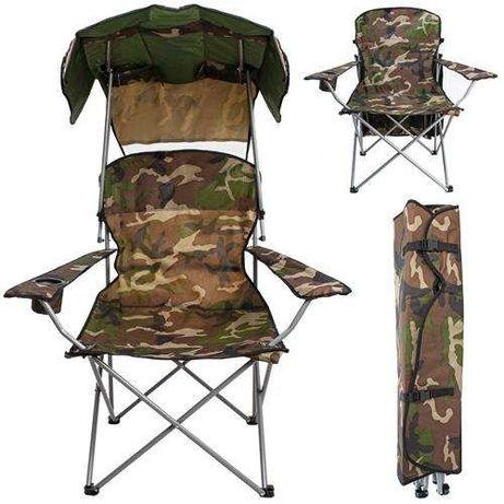 Кресло рыбацкое раскладной стул рыбацкий + защитный козырек крісло