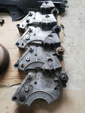 Кронштейн вискомуфты Audi A6 C5 2.5 TDI 059121313F Натяжні роліки ГРМ